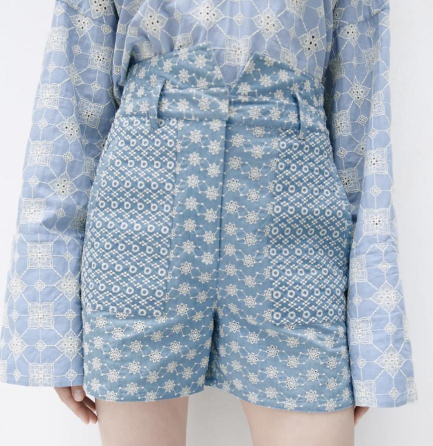 tendencias de verano shorts zara