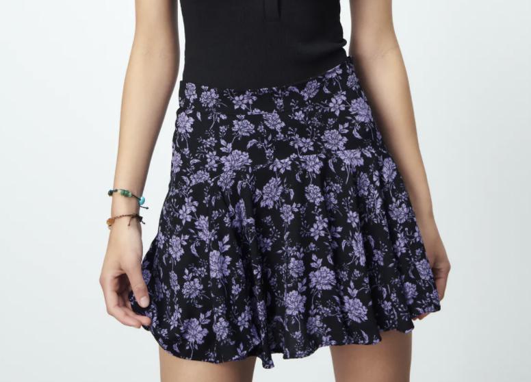 tendencias de verano shorts skort zara