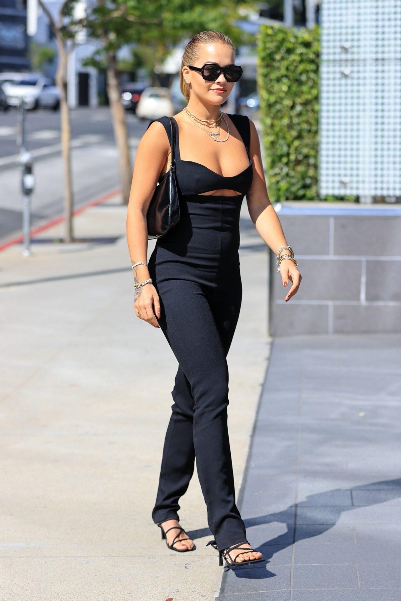 Rita Ora, look del dia, los angeles