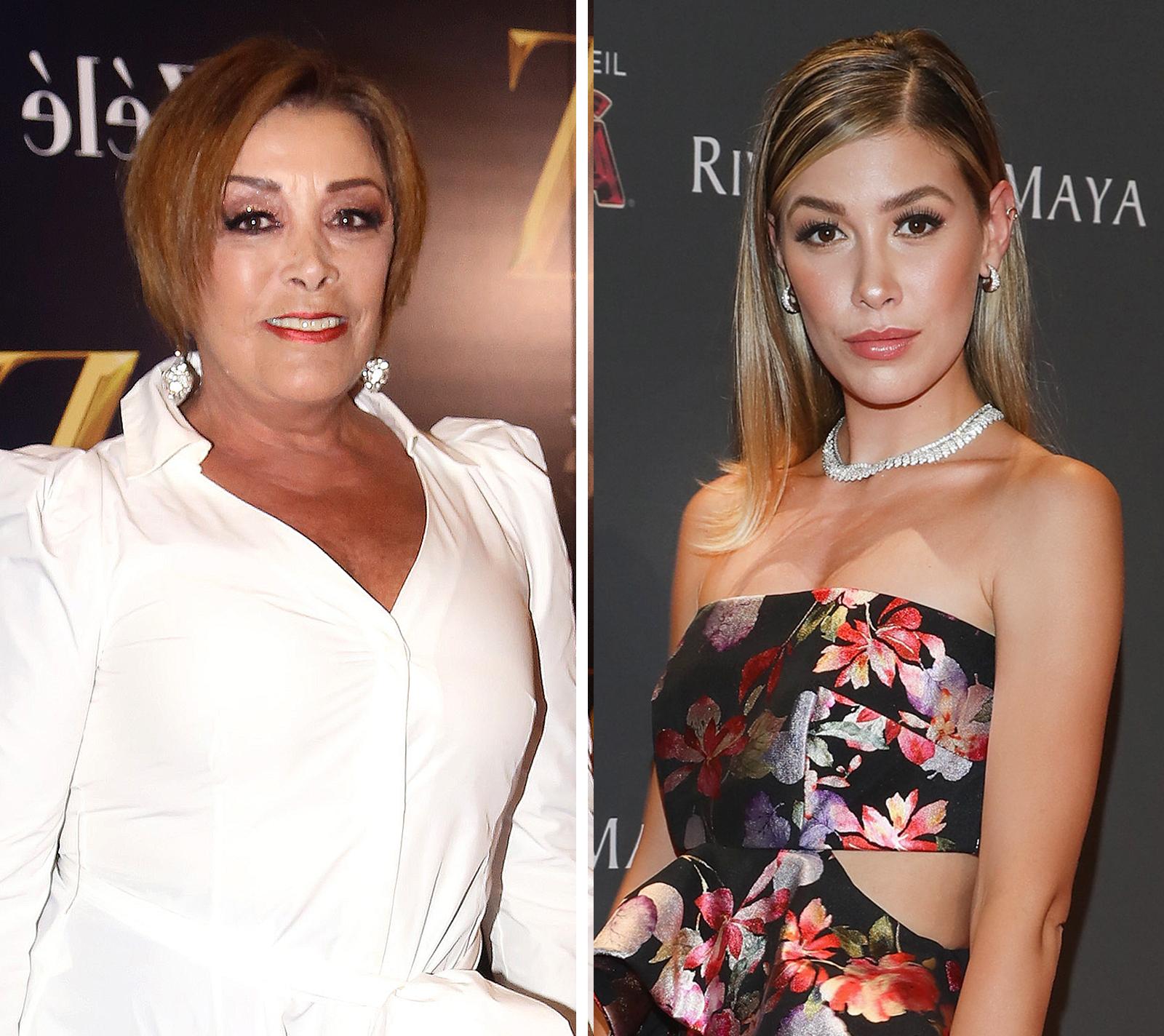 Sylvia Pasquel y Michelle Salas