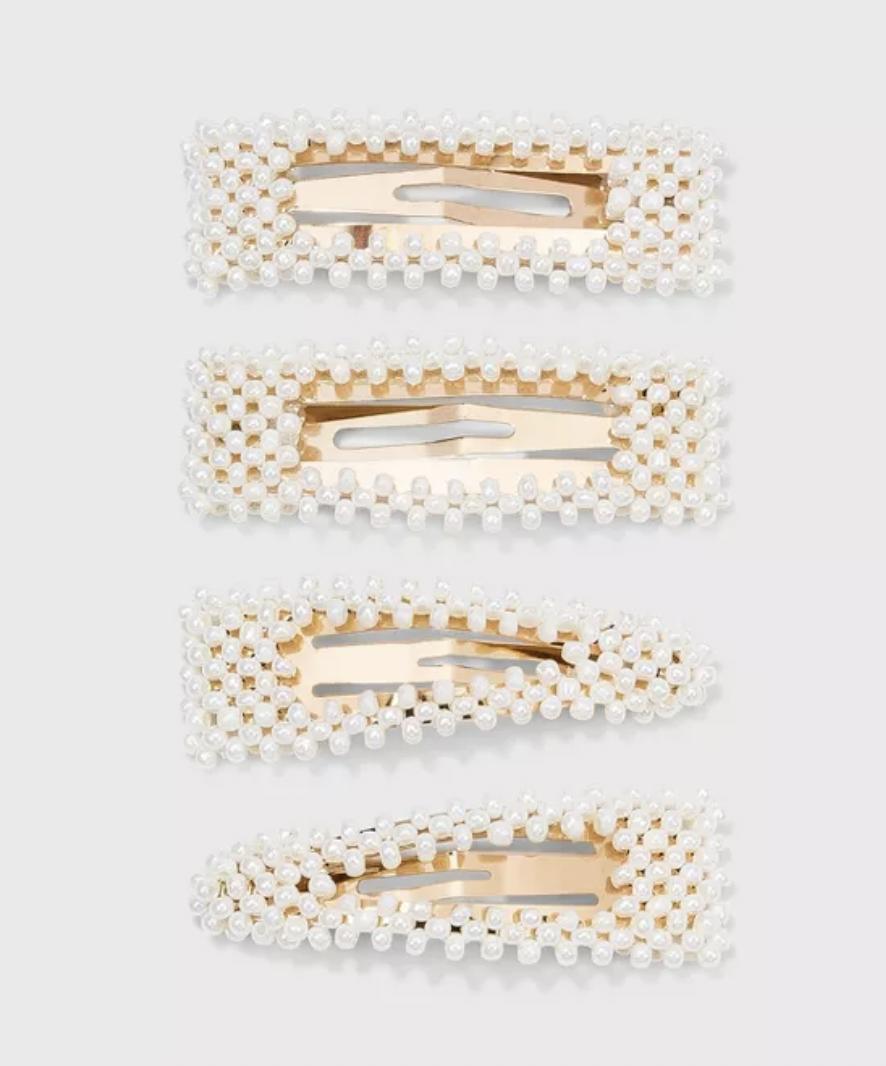 accesorios de pelo verano, hebillas, clips, a new day target