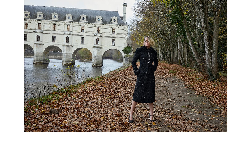 Kristen Stewart campaña chanel castillo