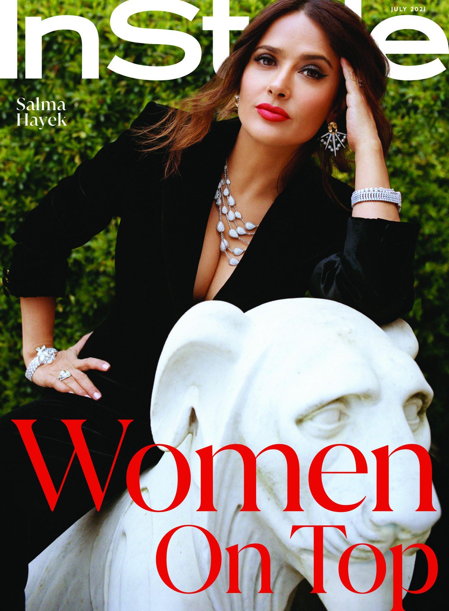 Salma Hayek - Portada de InStyle