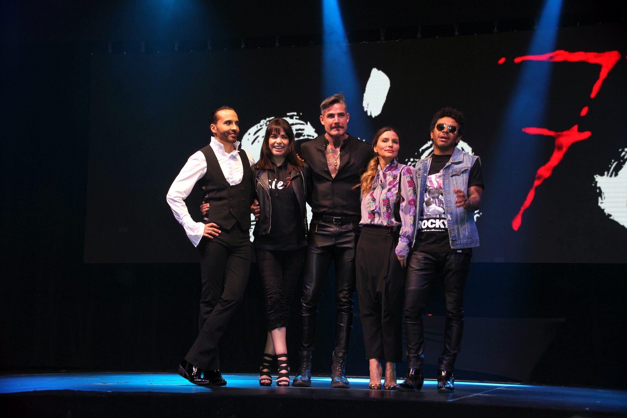 """Issabela Camil y más participan en """"Sie7e"""" un espectáculo musical en el que se representarán a los siete pecados capitales y que estrena temporada el próximo 18 de junio en el Pepsi Center de la capital mexicana"""