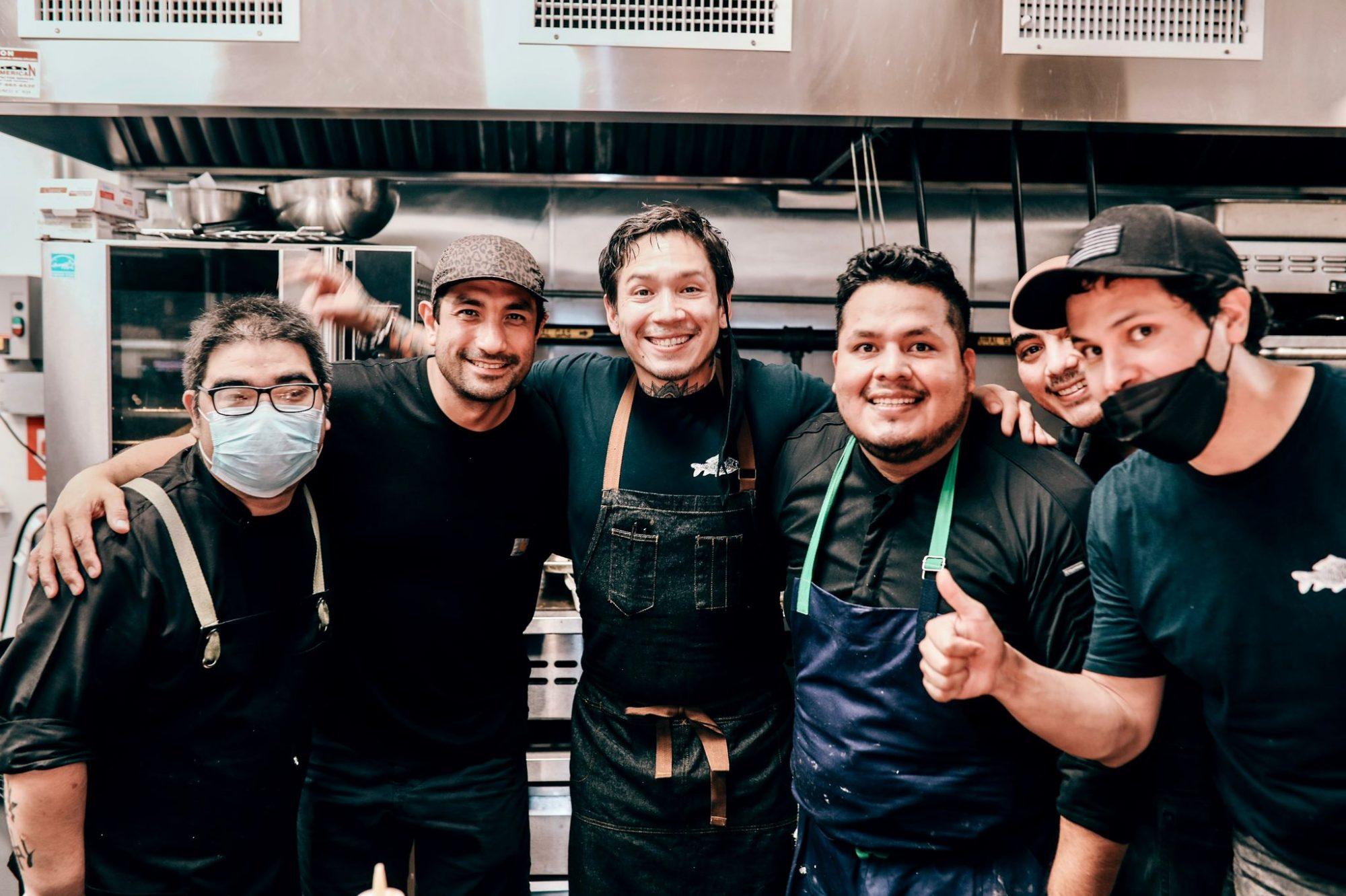 Aldo Shimabukuro Erick ramirez de llama INN restaurant Edwin Guzman Luis Romero y Adolfo Gosalvez