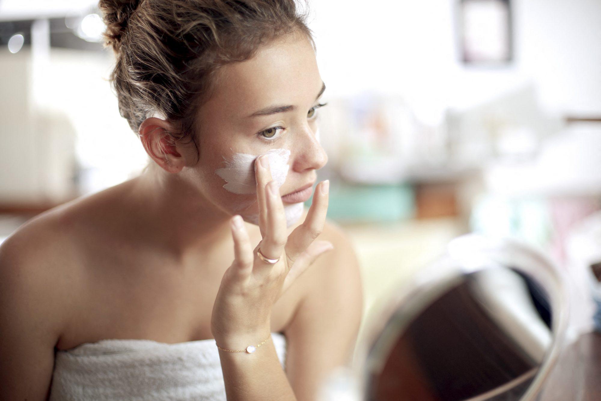 acné productos belleza piel