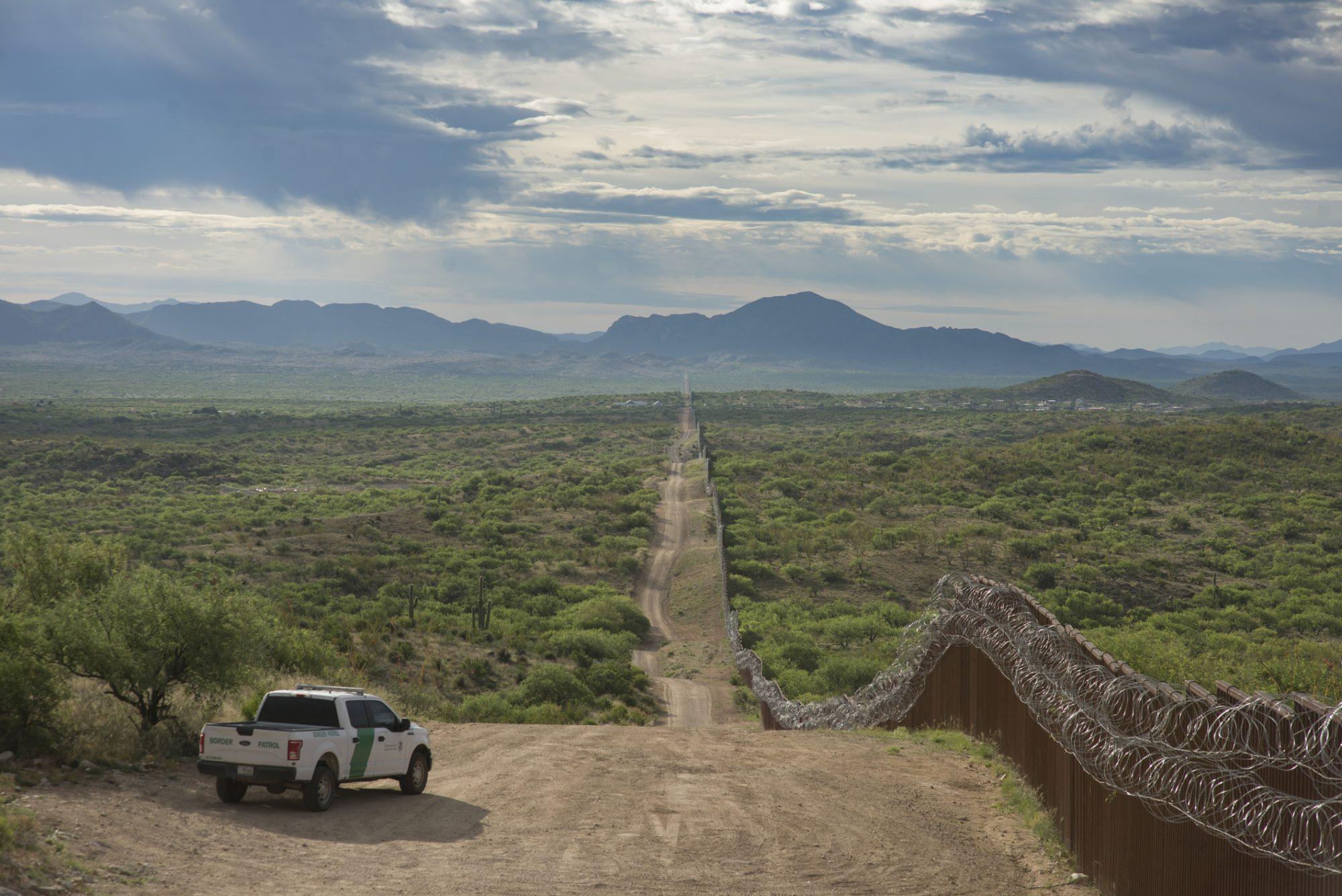 Muro fronterizo frontera usa mexico