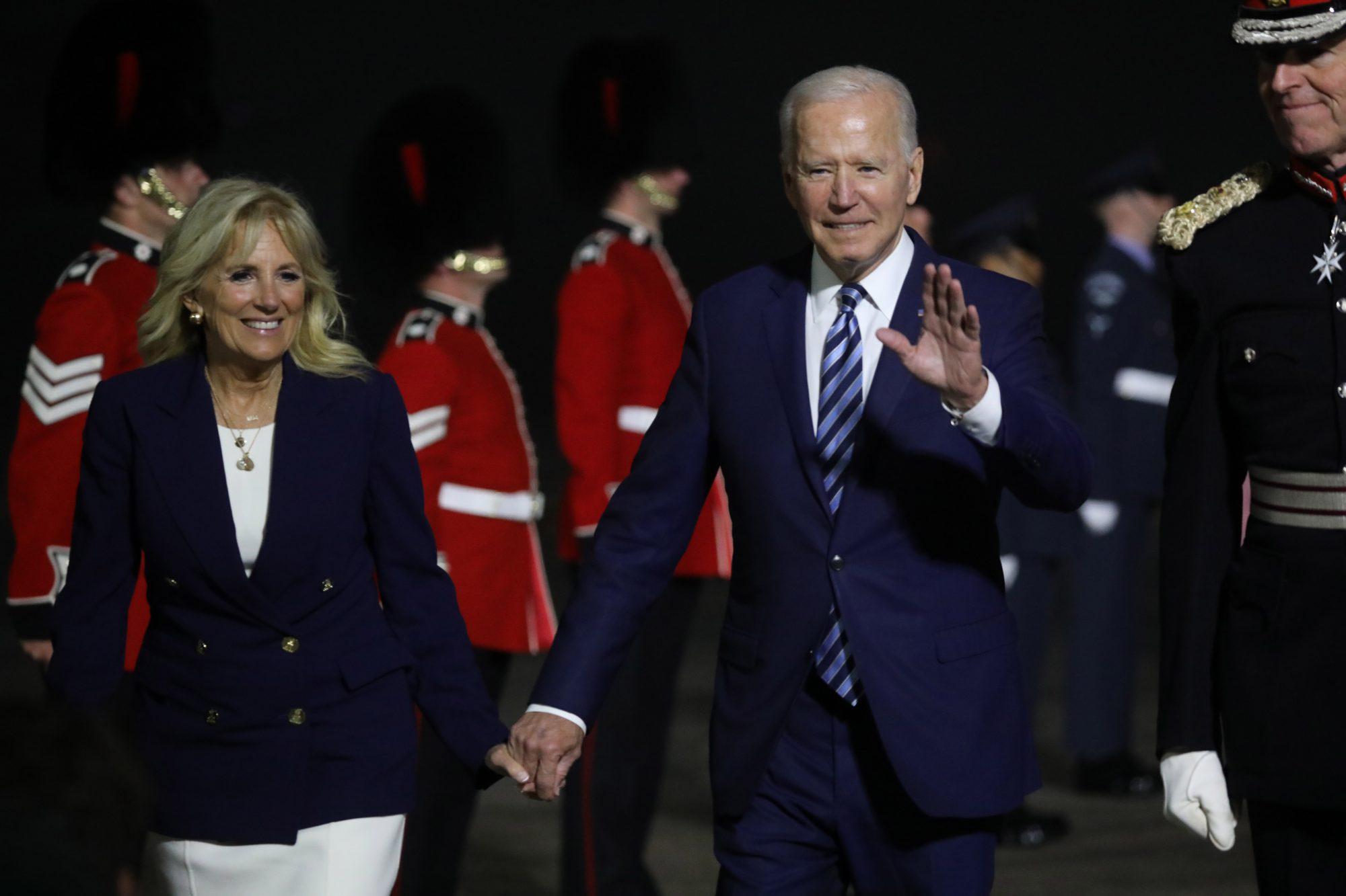 presidente Joe Biden en la cumbre del G-7