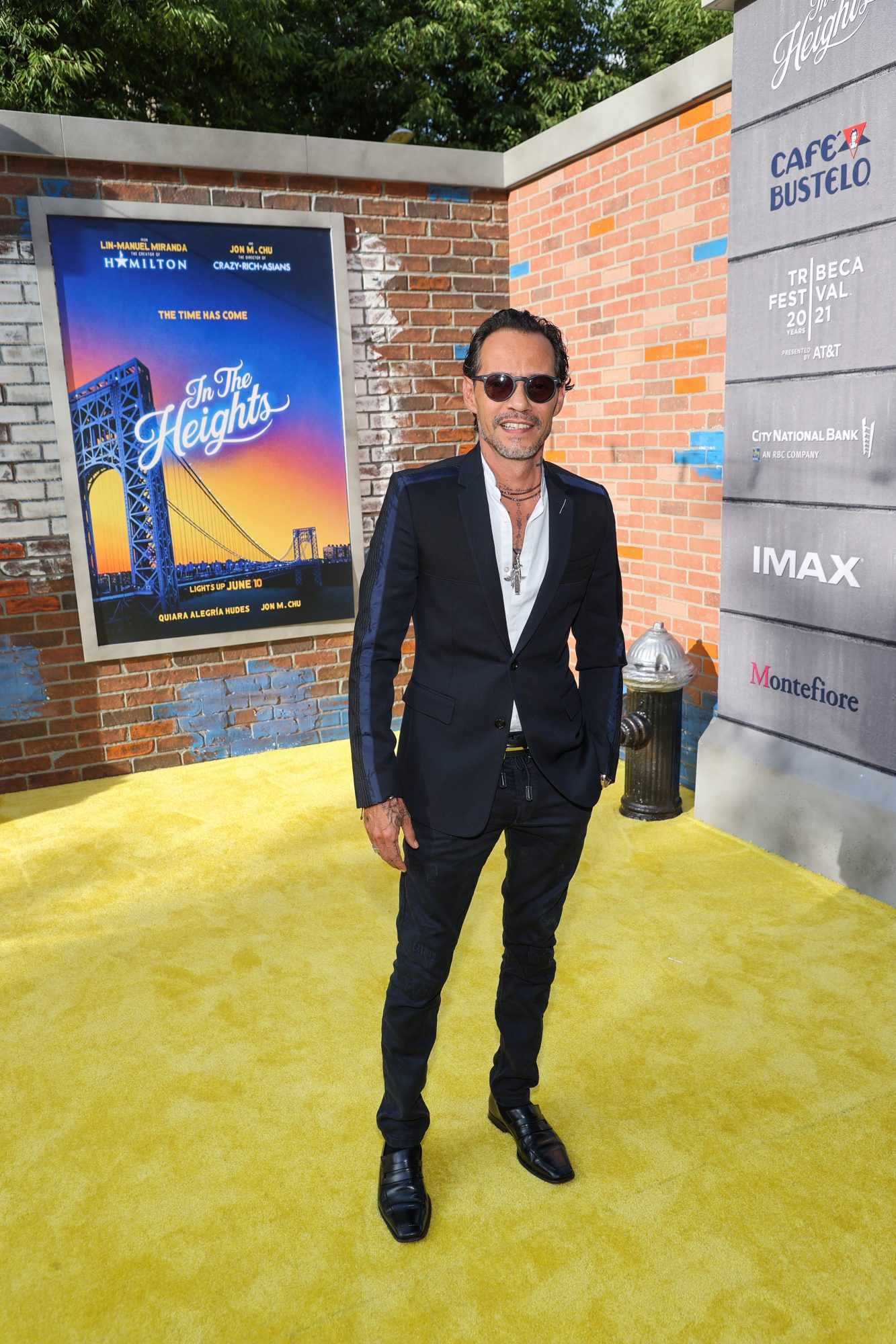 In the Heights estreno, Marc Anthony
