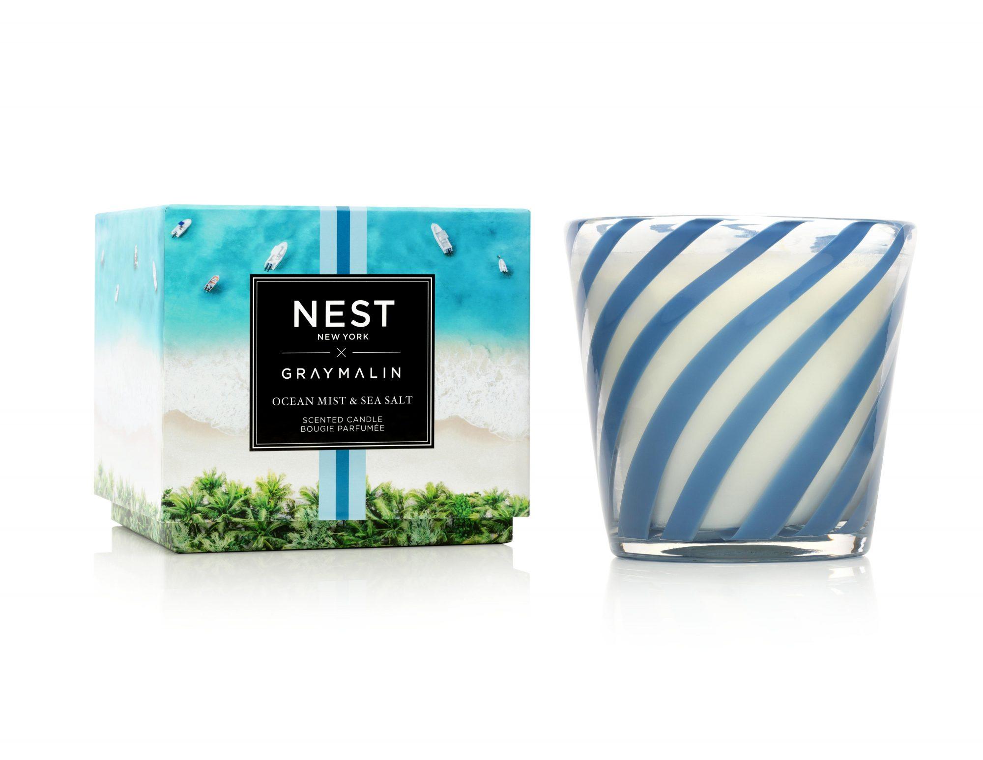 Productos con aroma que transporta vacaciones