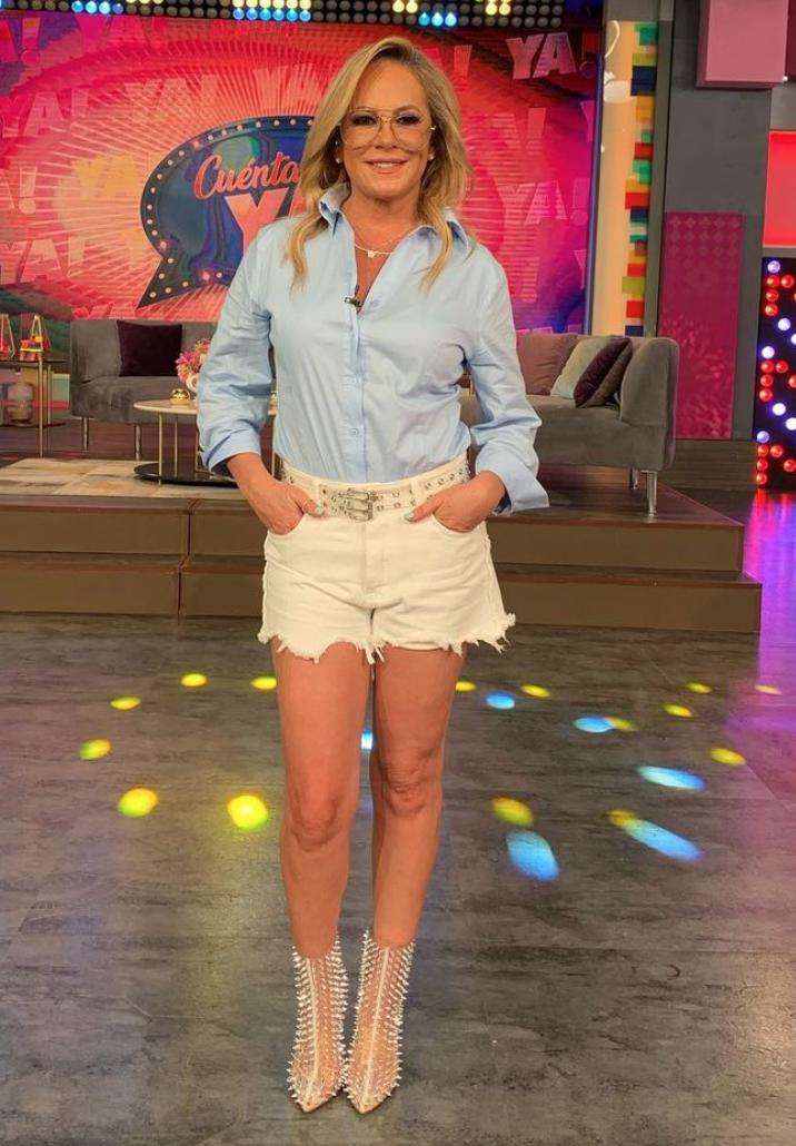Roxana Castellanos, look del dia, pantalon corto