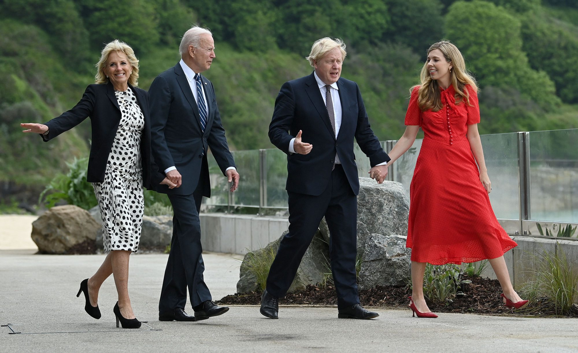 Joe Biden, Jill Biden, G7
