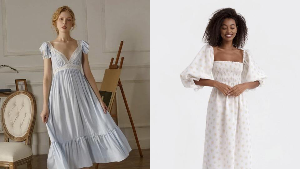 vestido, nap dress, nightgown, Shein, Sleeper