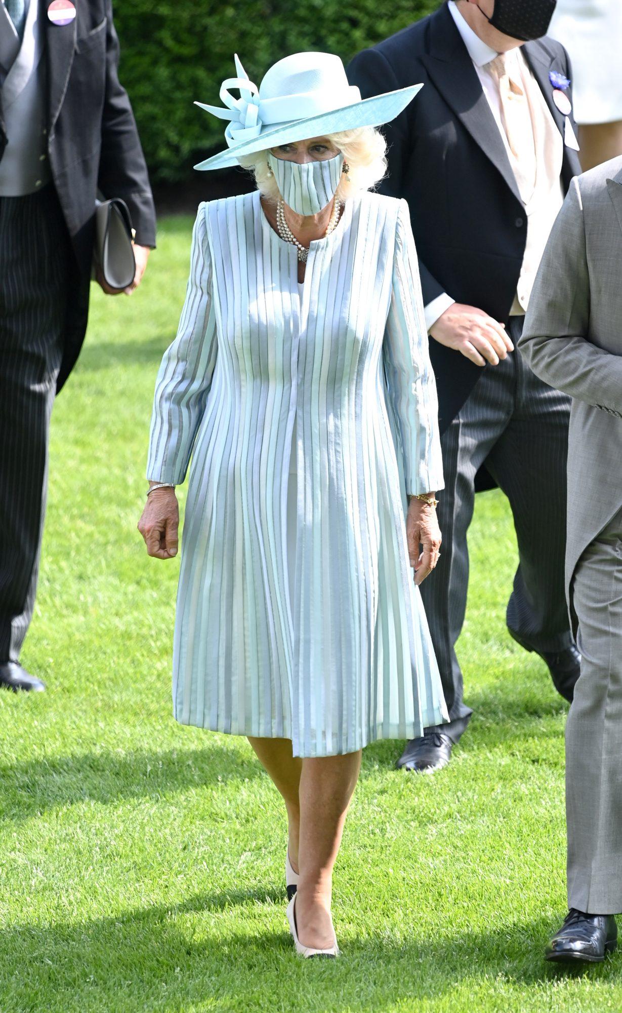 Royal Ascot, eventos, moda, Camilla, duquesa de Cornualles