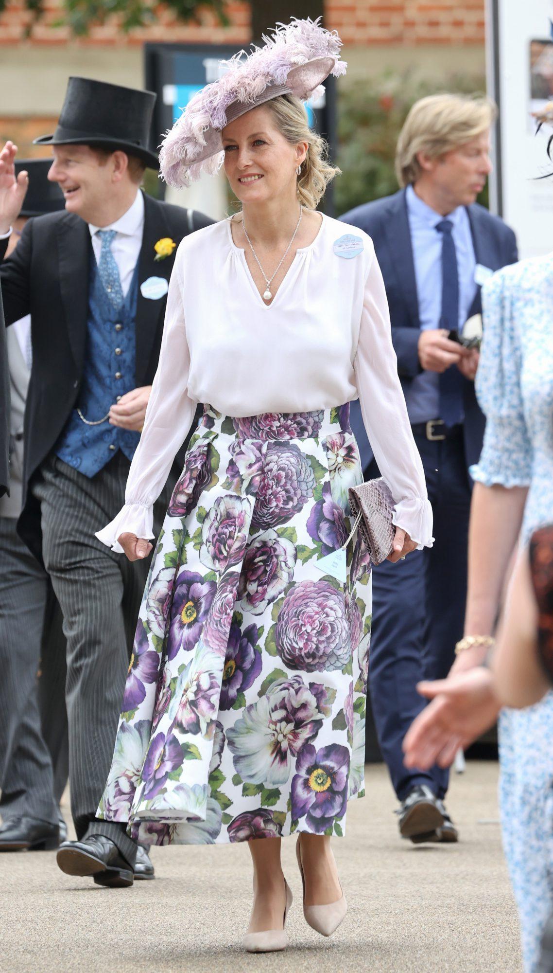 Royal Ascot, eventos, moda, Sophie, condesa de Wessex