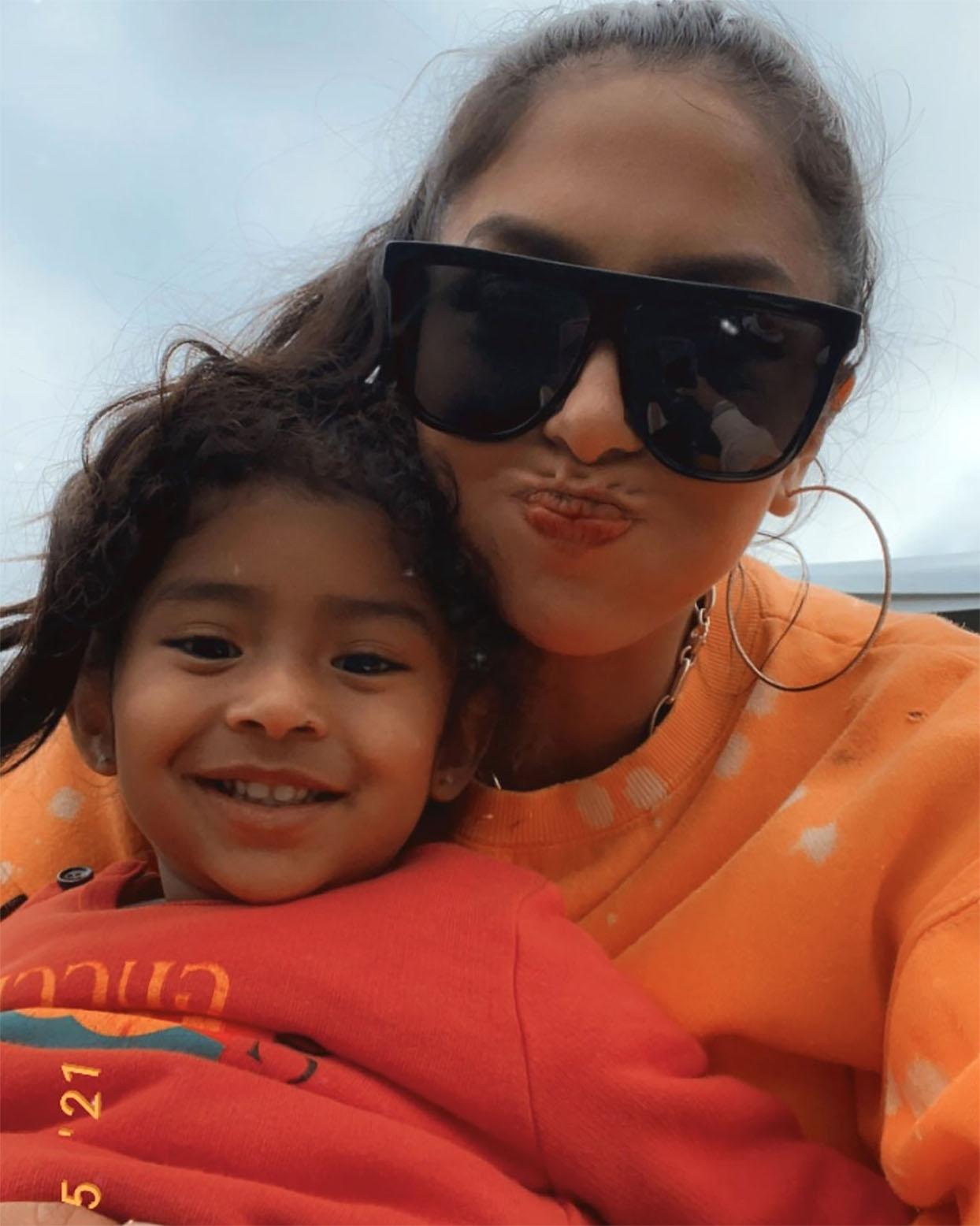 vanessa Bryant y su hija Capri