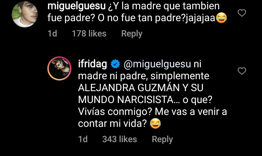 Mensaje a Frida Sofía