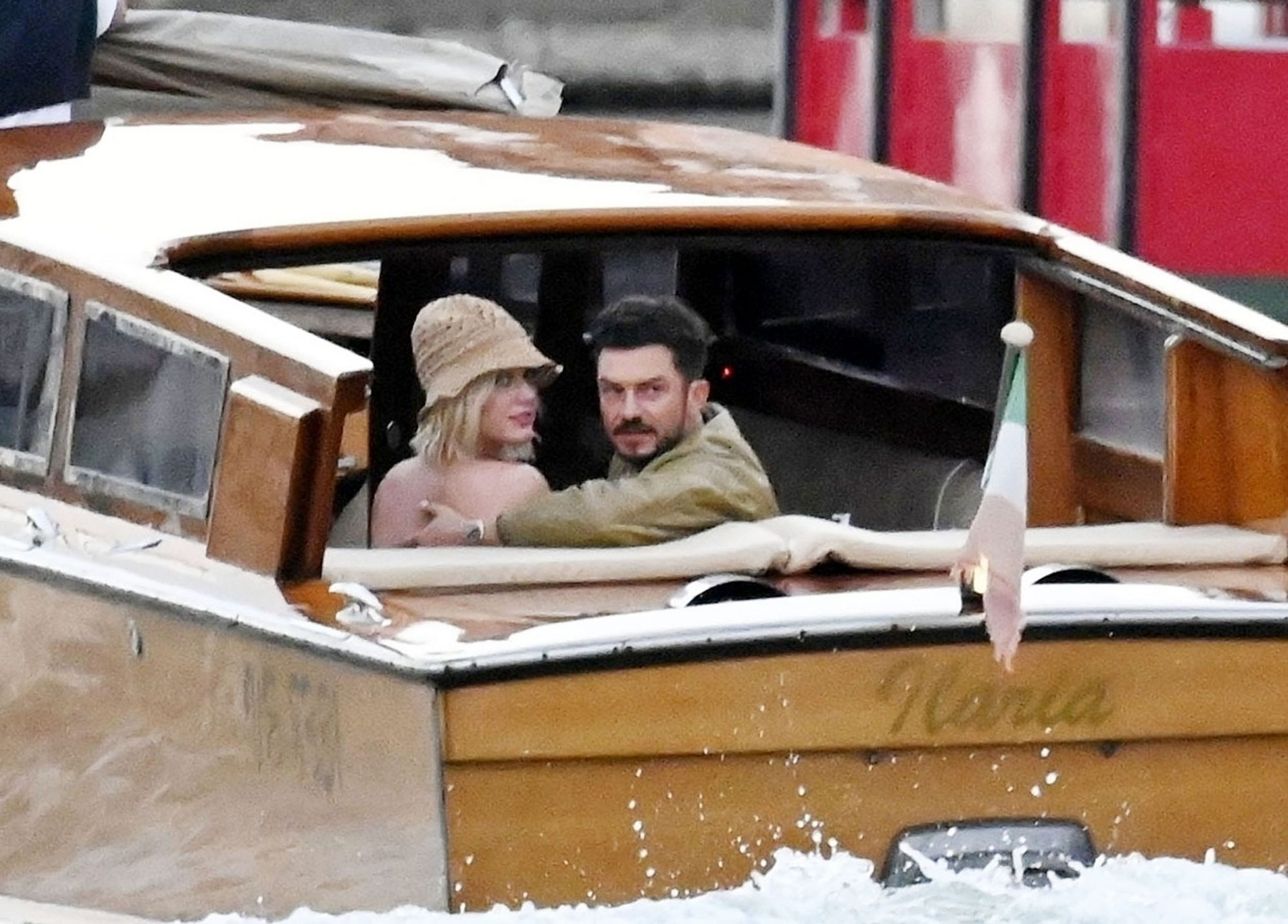 Katy Perry and Orlando Bloom Enjoy a Romantic Evening on a Taxi Boat