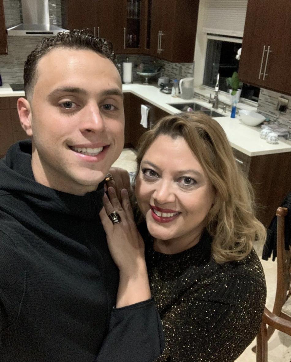 Nick Silva y Susy Dunand Silva hermana de Alex Rodríguez