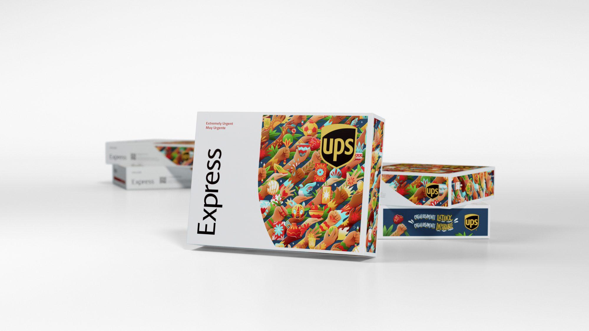 OPS box diseñada por artista hispano