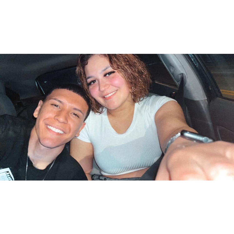 Gyovanny Arzuaga and Yasmin Perez