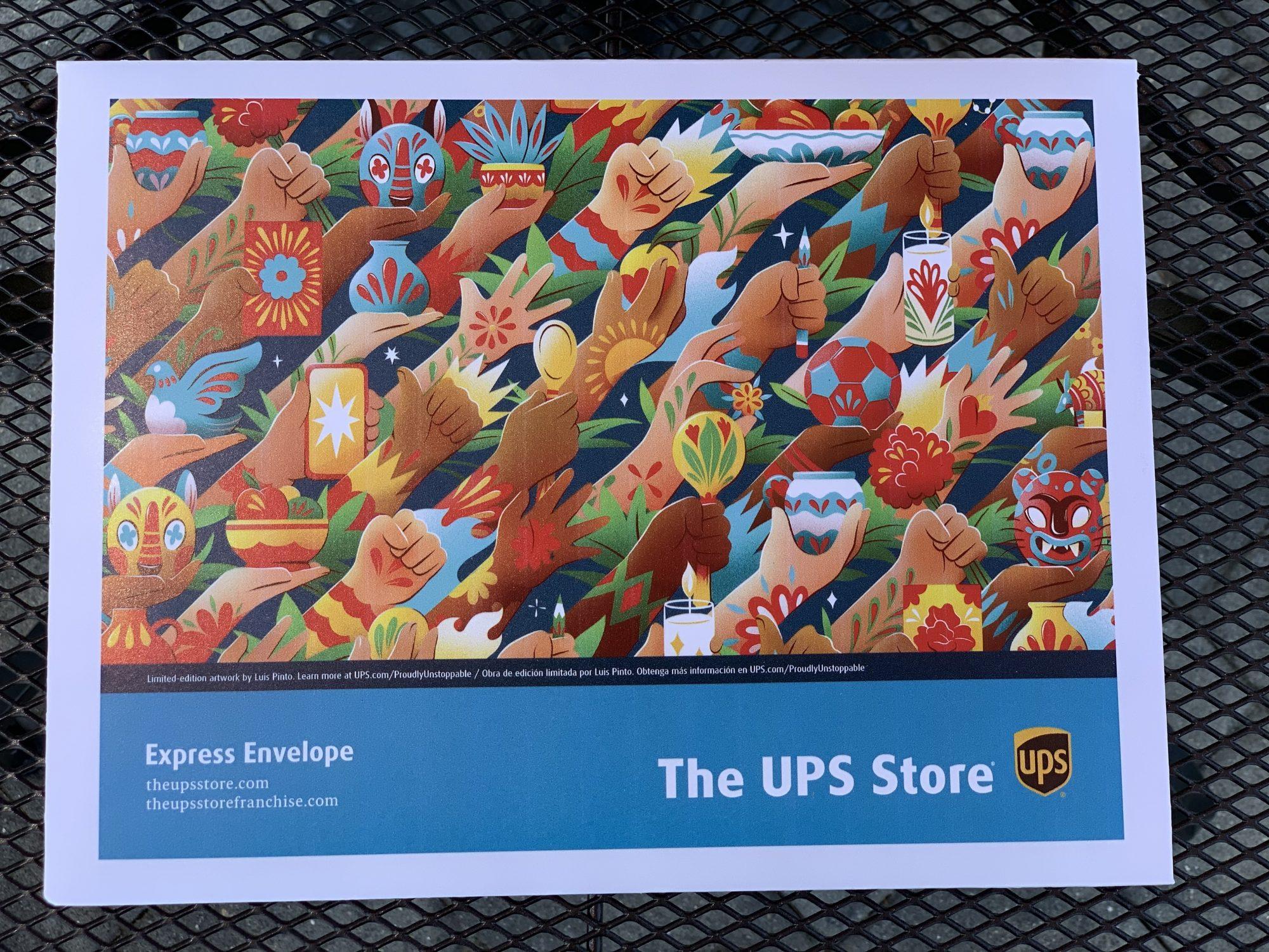 cajas de UPS para ayudar a pequeños empresarios