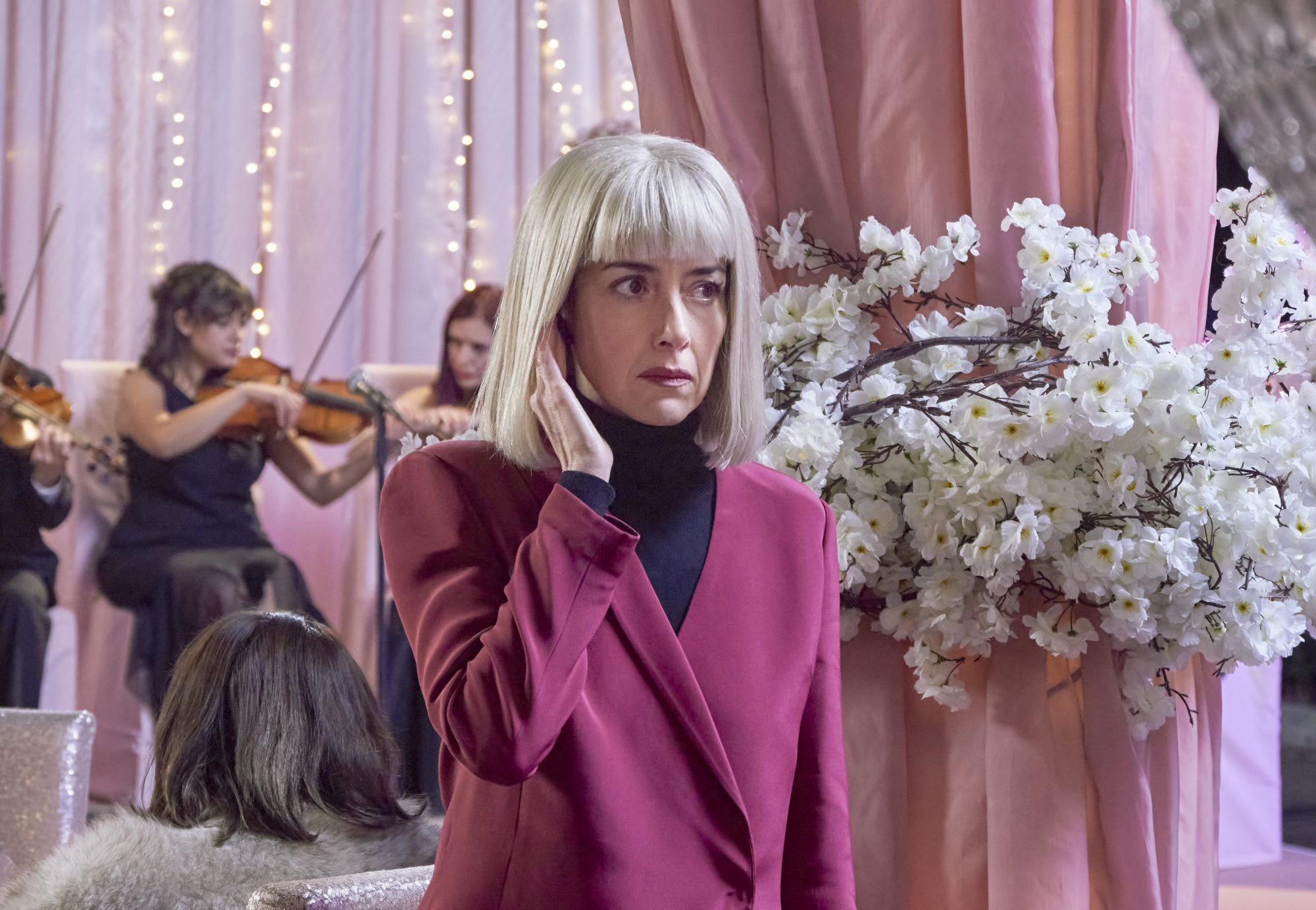 Cecilia Suárez en La casa de las flores, la película