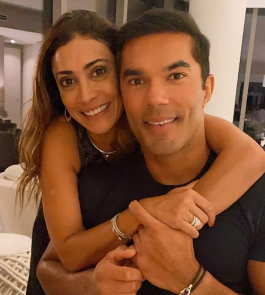 Erick De Moura y Fernanda Figueiredo