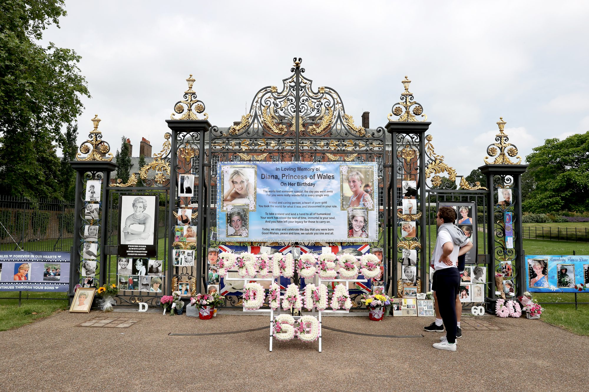 tributo a la princesa Diana en su 60 cumpleaños