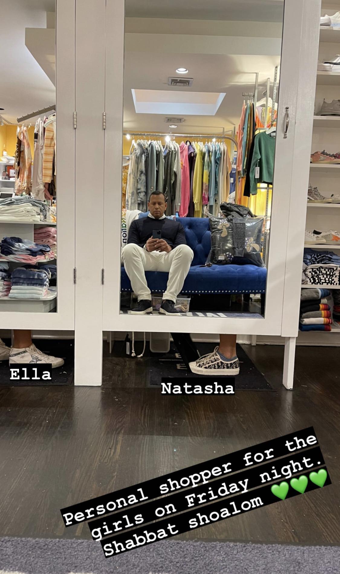 Hijas Arod shopping