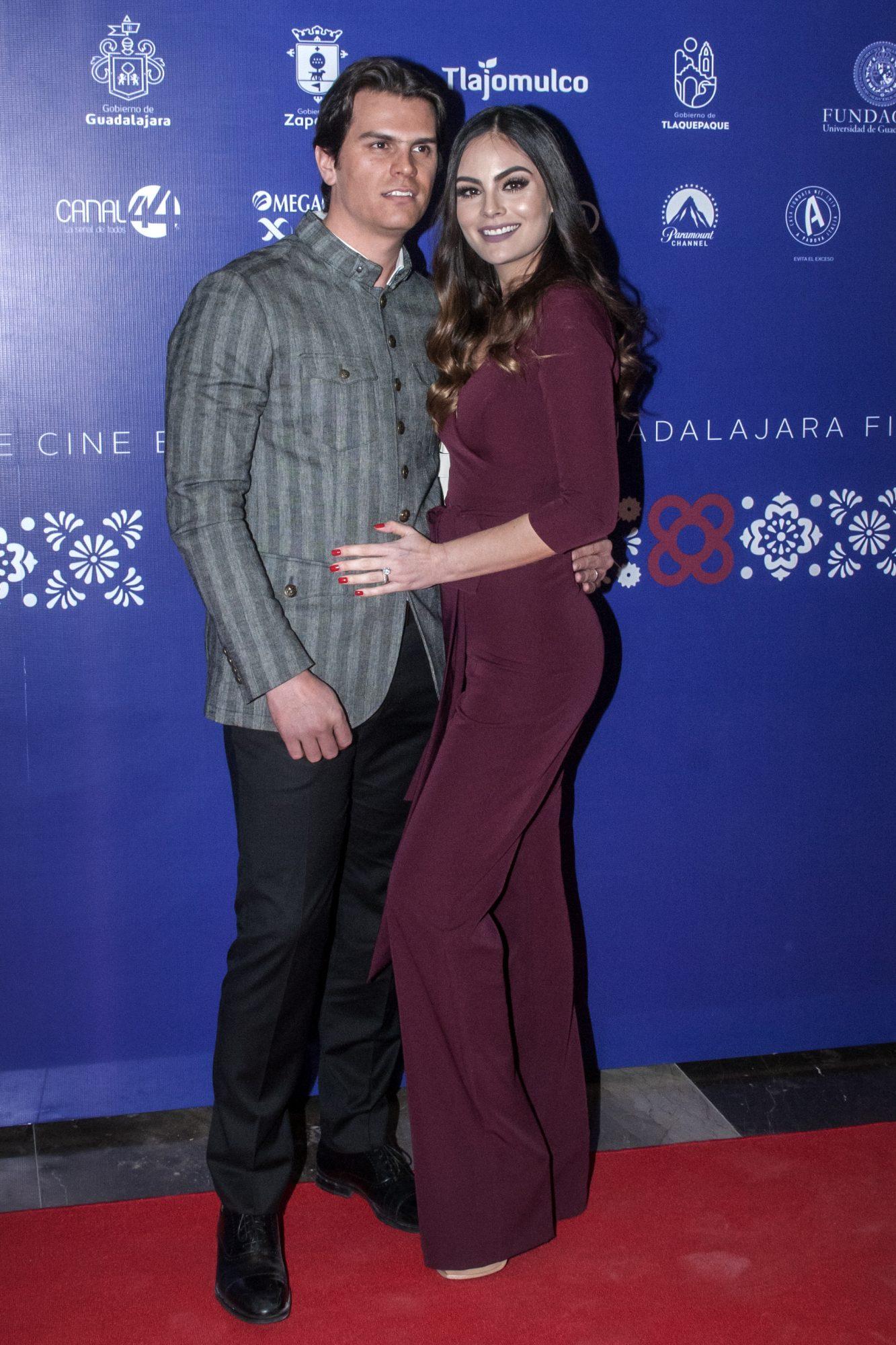 Juan Carlos Valladares and Ximena Navarrete