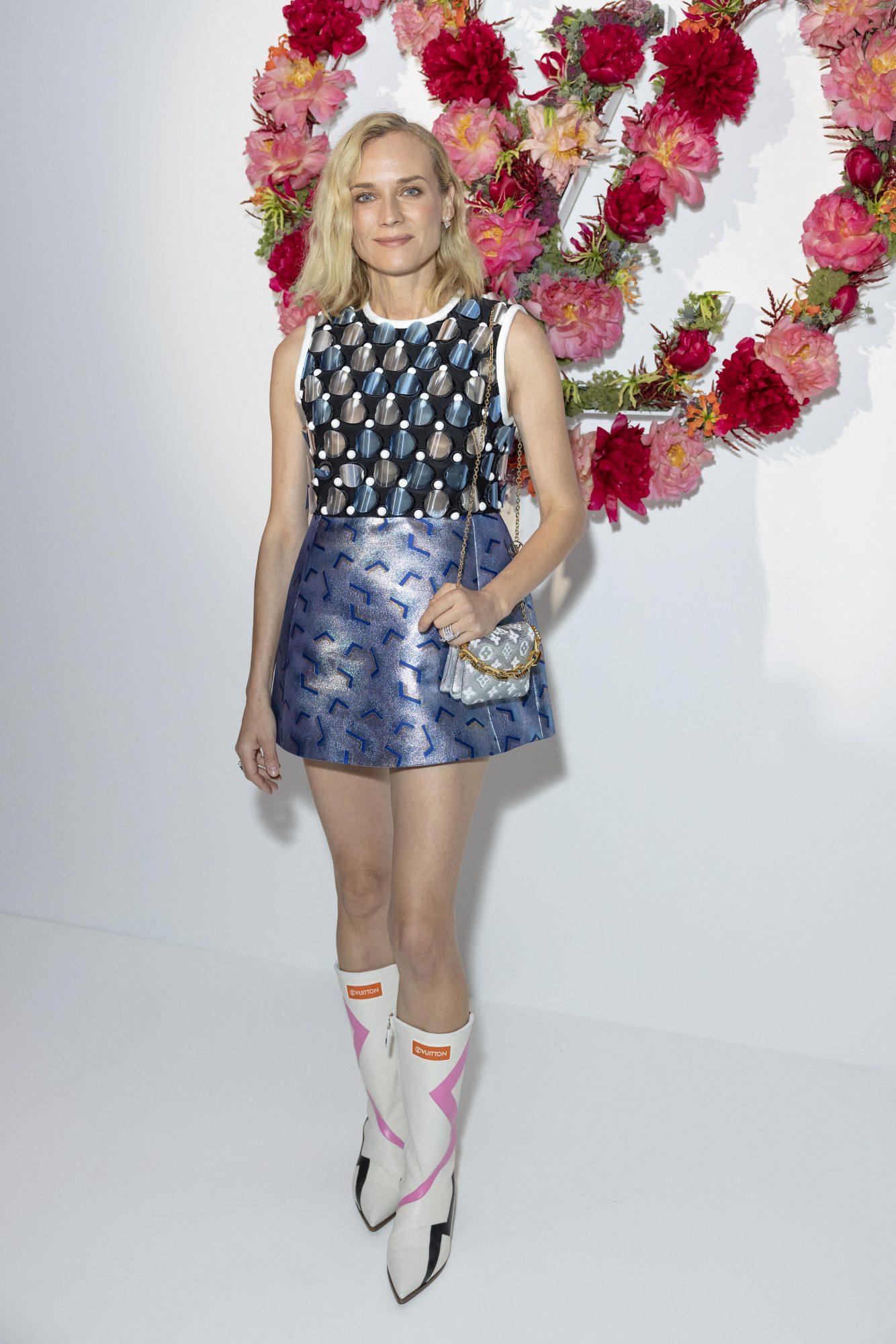 Diane Kruger, Paris, Louis Vuitton