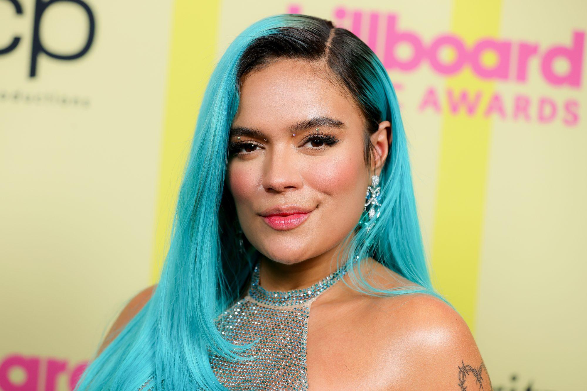 Karol G 2021 Billboard Music Awards - Backstage