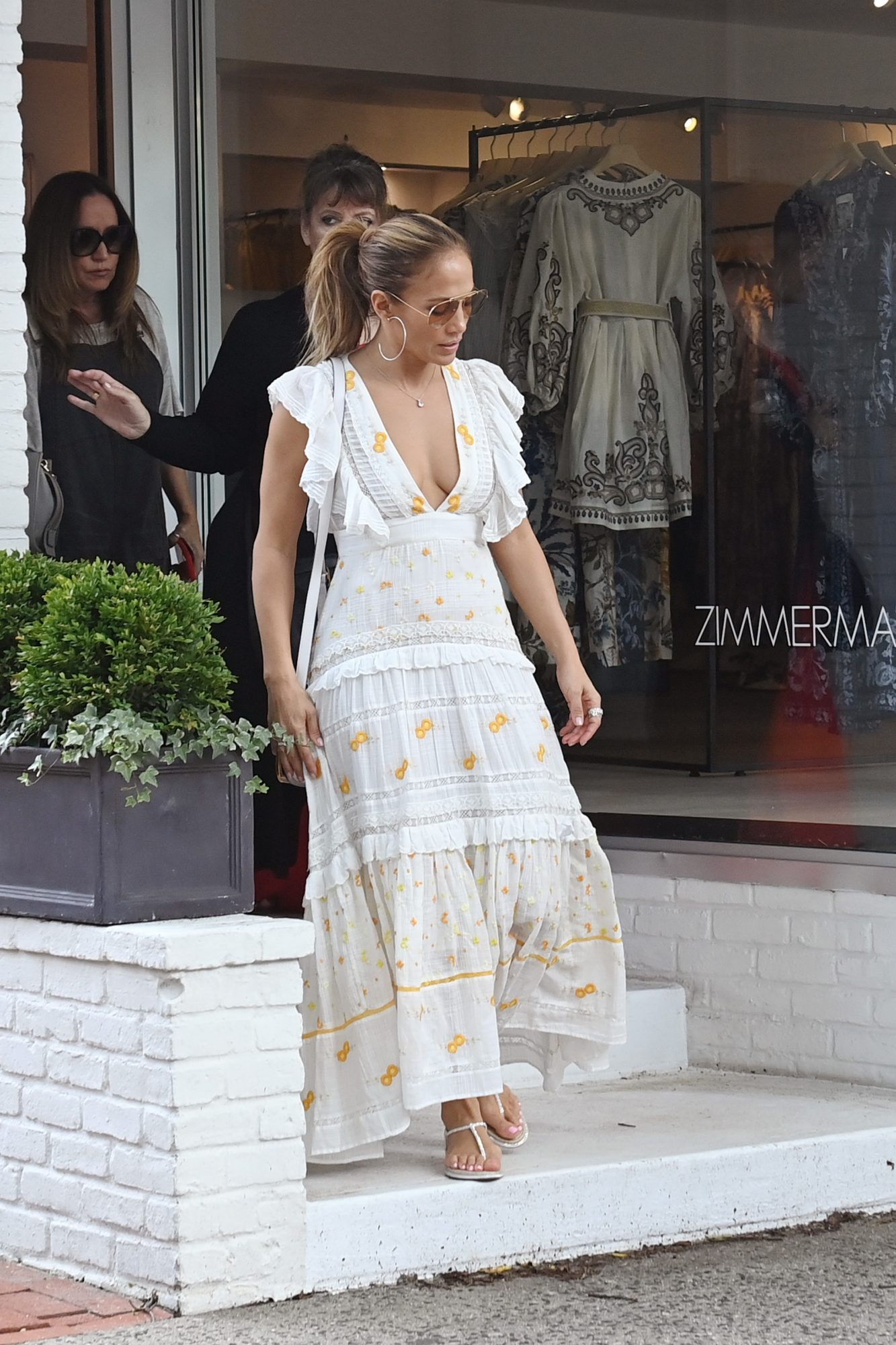 Jennifer López J.Lo vestido Hamptons