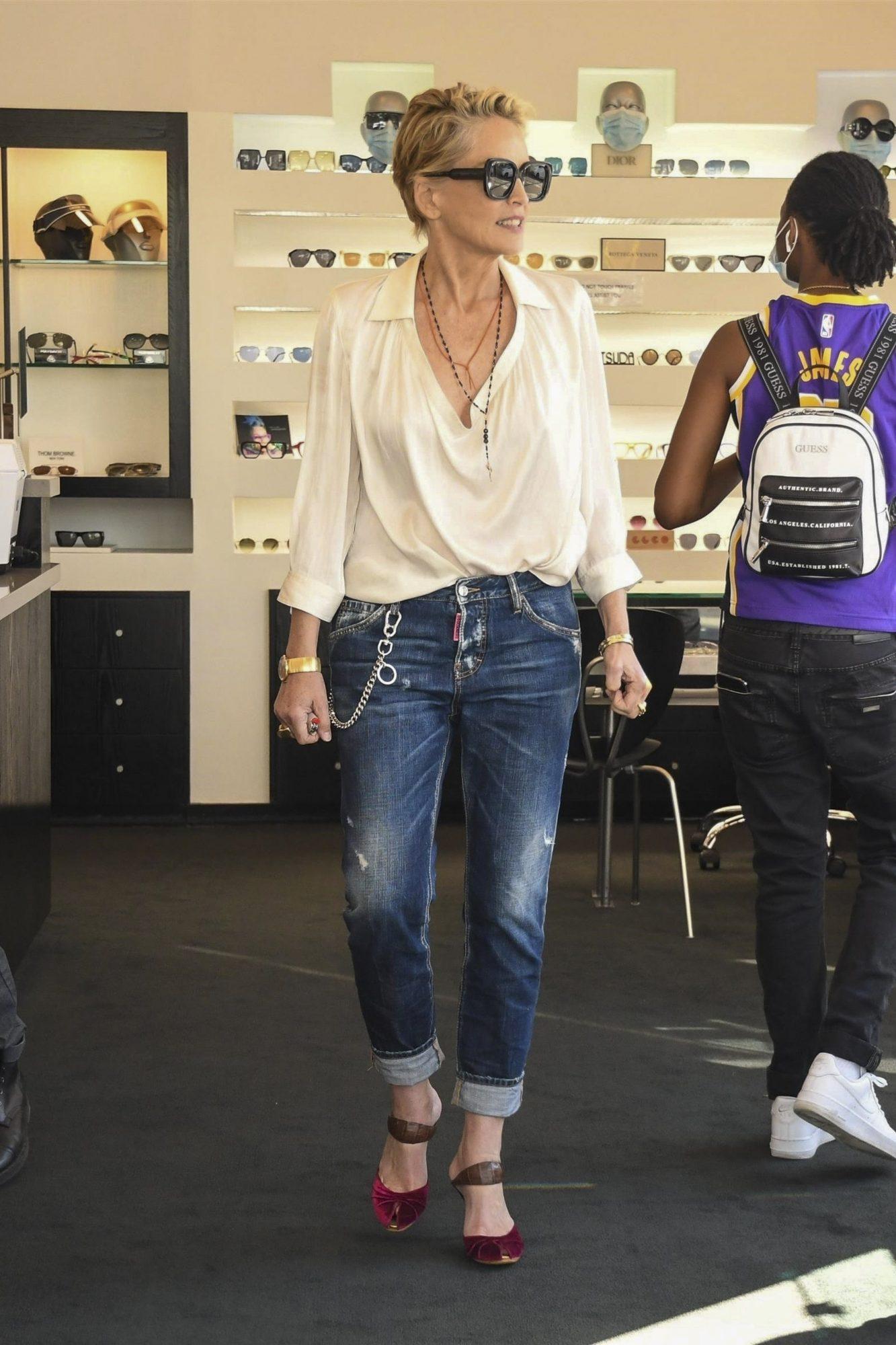 Sharon Stone, Beverly Hills