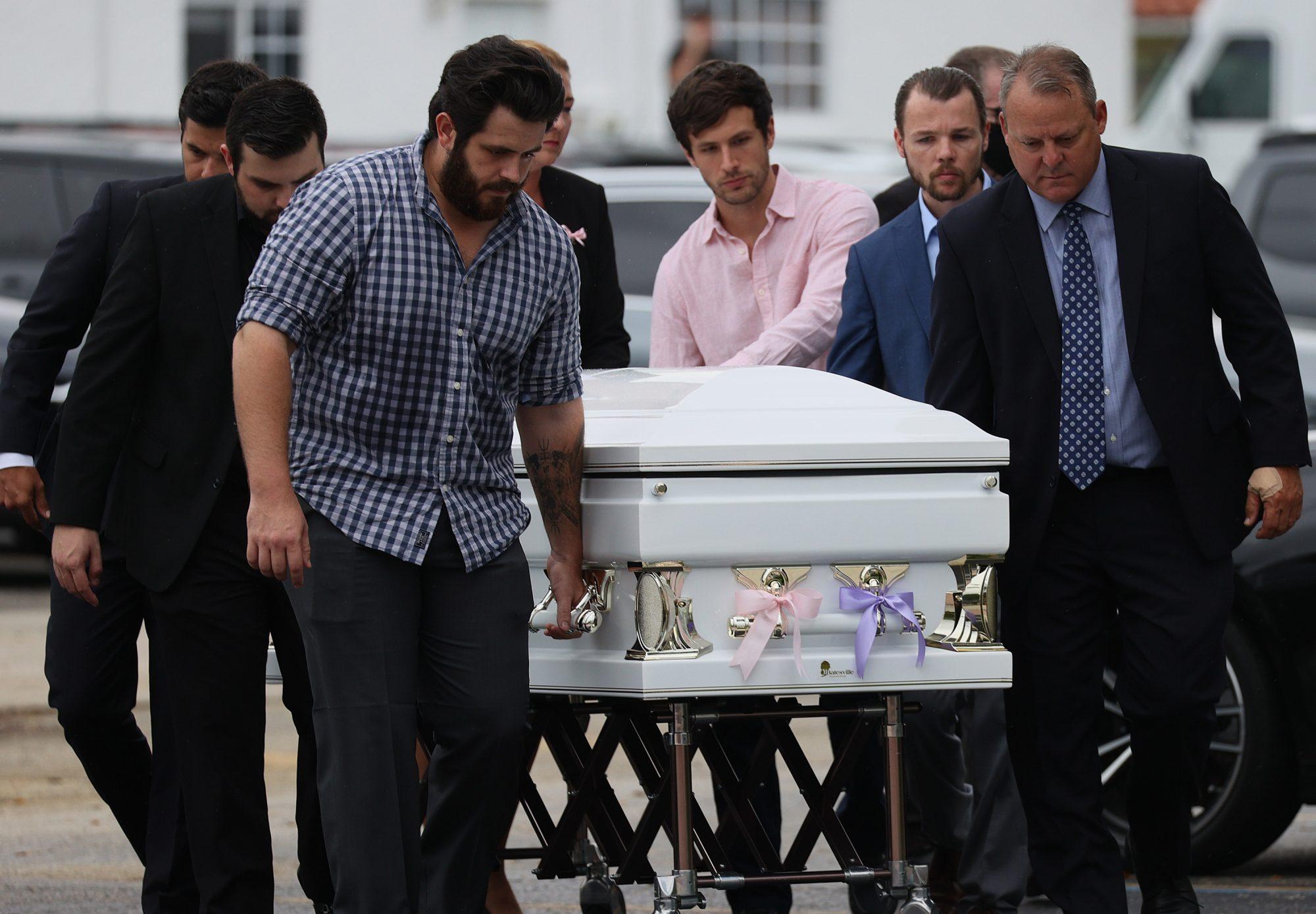 Funeral de Lucia y Emma Guara