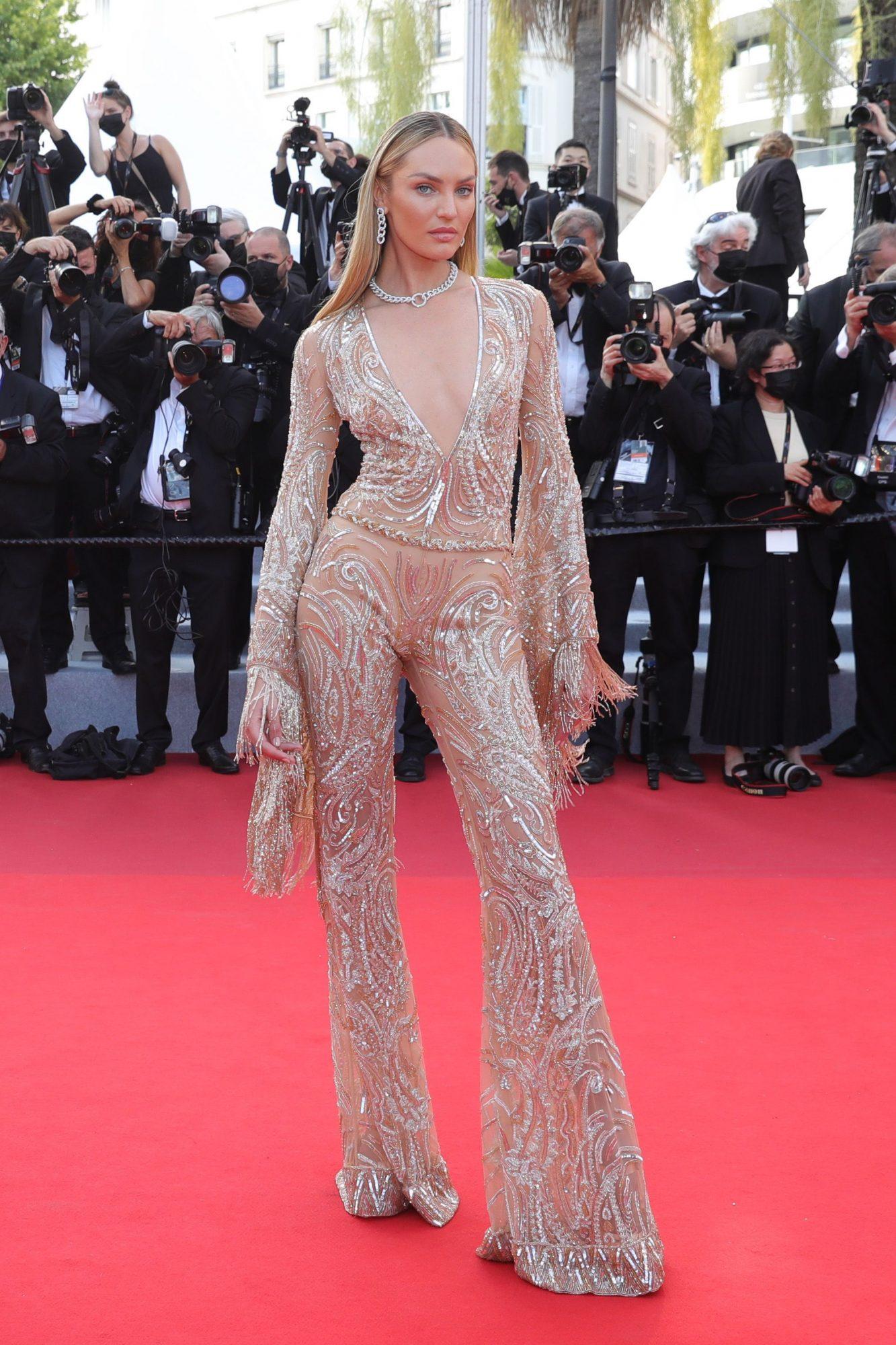 Festival de cine de Cannes alfombra roja, Candice Swanepoel