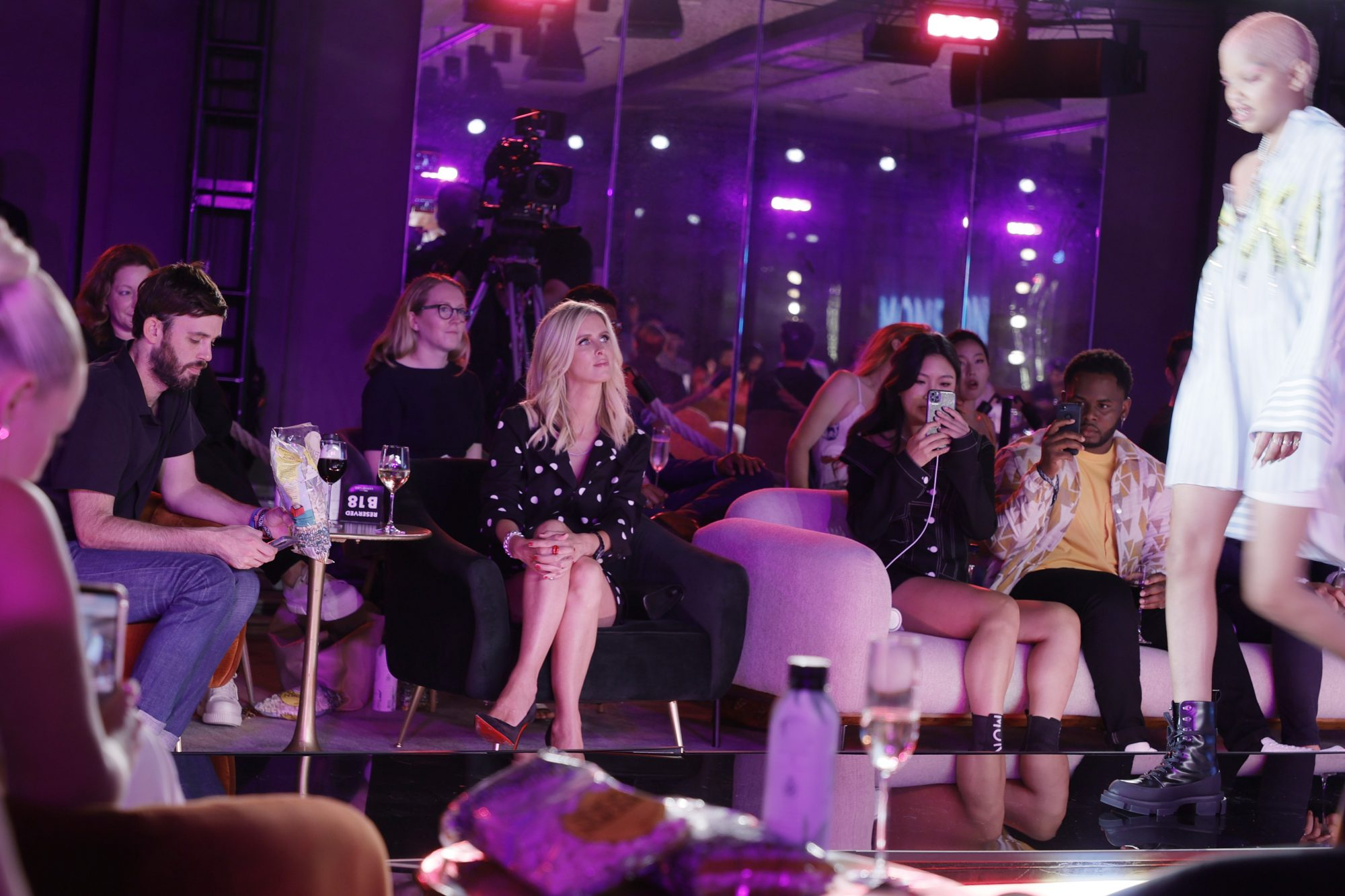 HBO Max Gossip Girl Launch Event + Monse Fashion Show