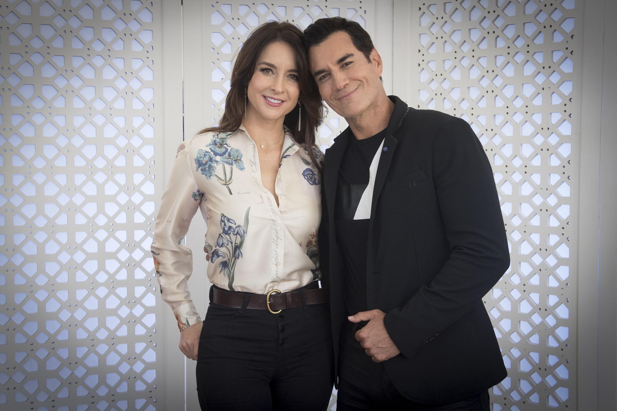 Susana González y David Zepeda