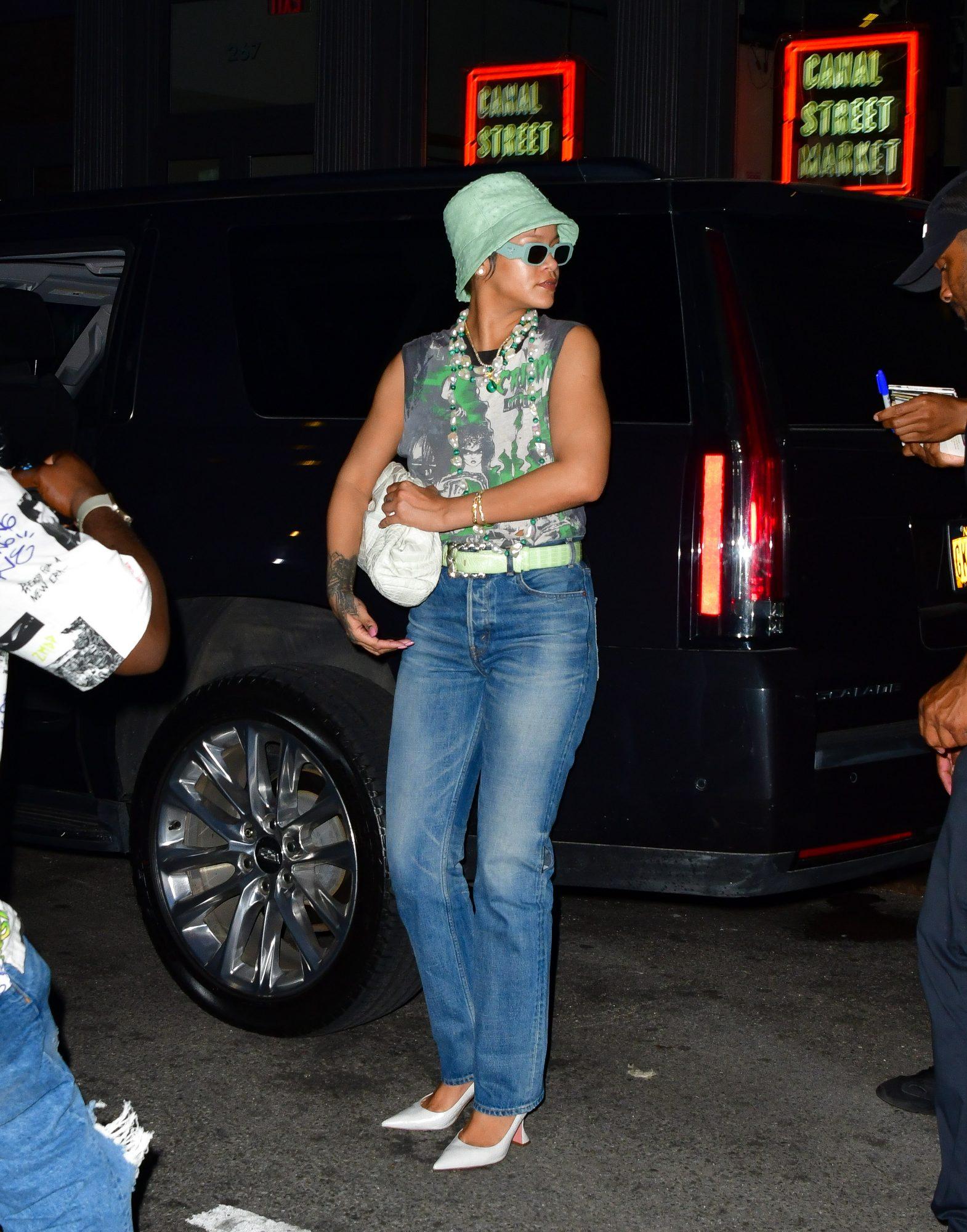Look del día, Rihanna