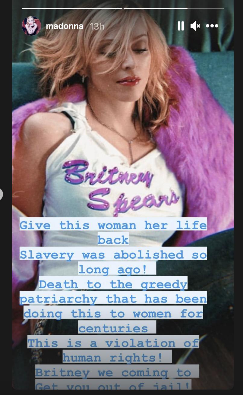 Madonna for Britney