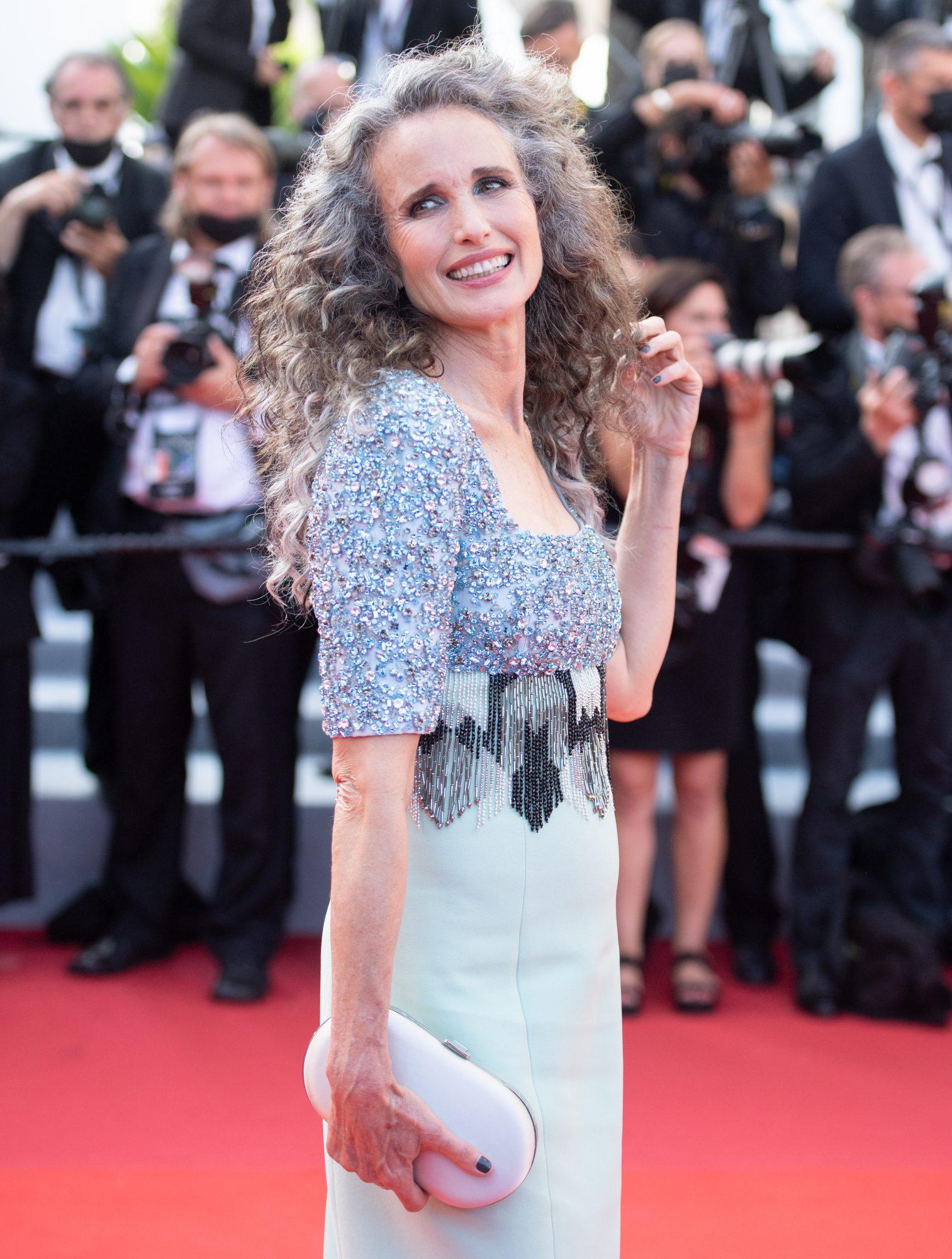 Andie McDowell en Cannes