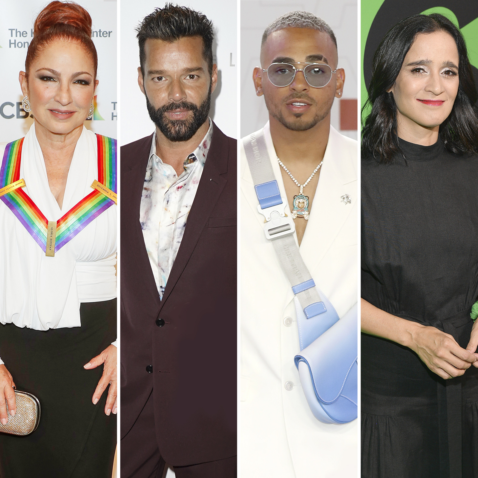 Gloria Estefan, Ricky Martin, Ozuna, Julieta Venegas