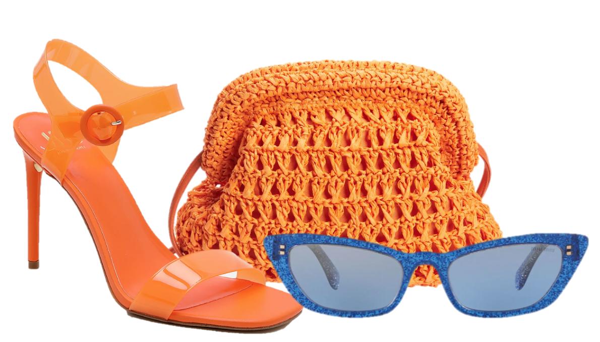Accesorios coloridos moda verano