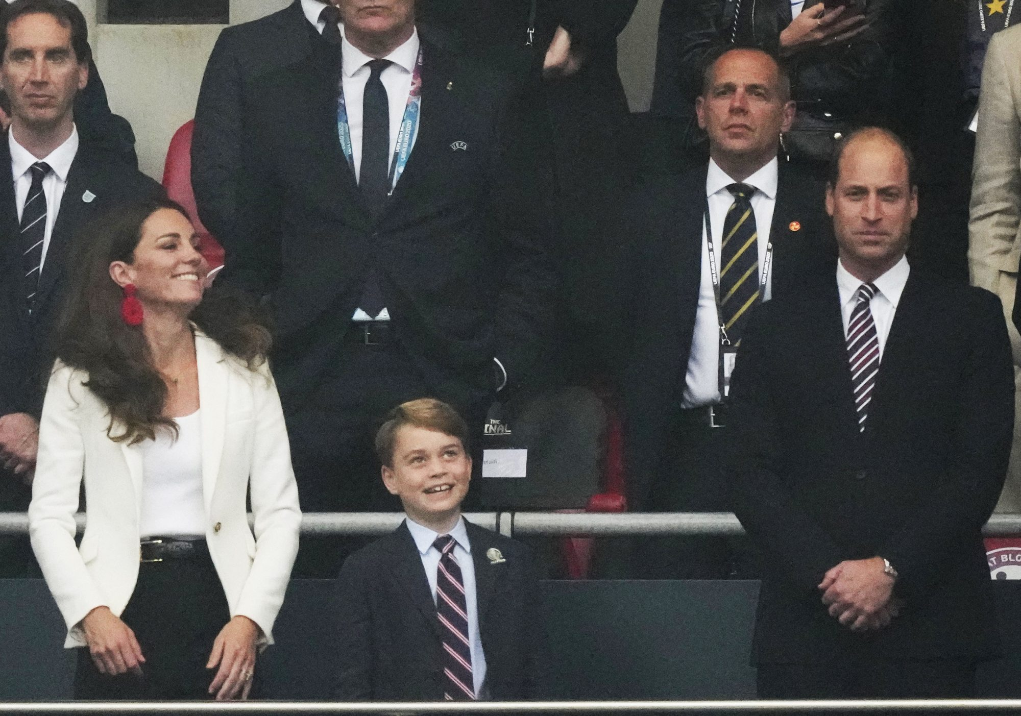 Kate Middleton, Prince George y Prince William