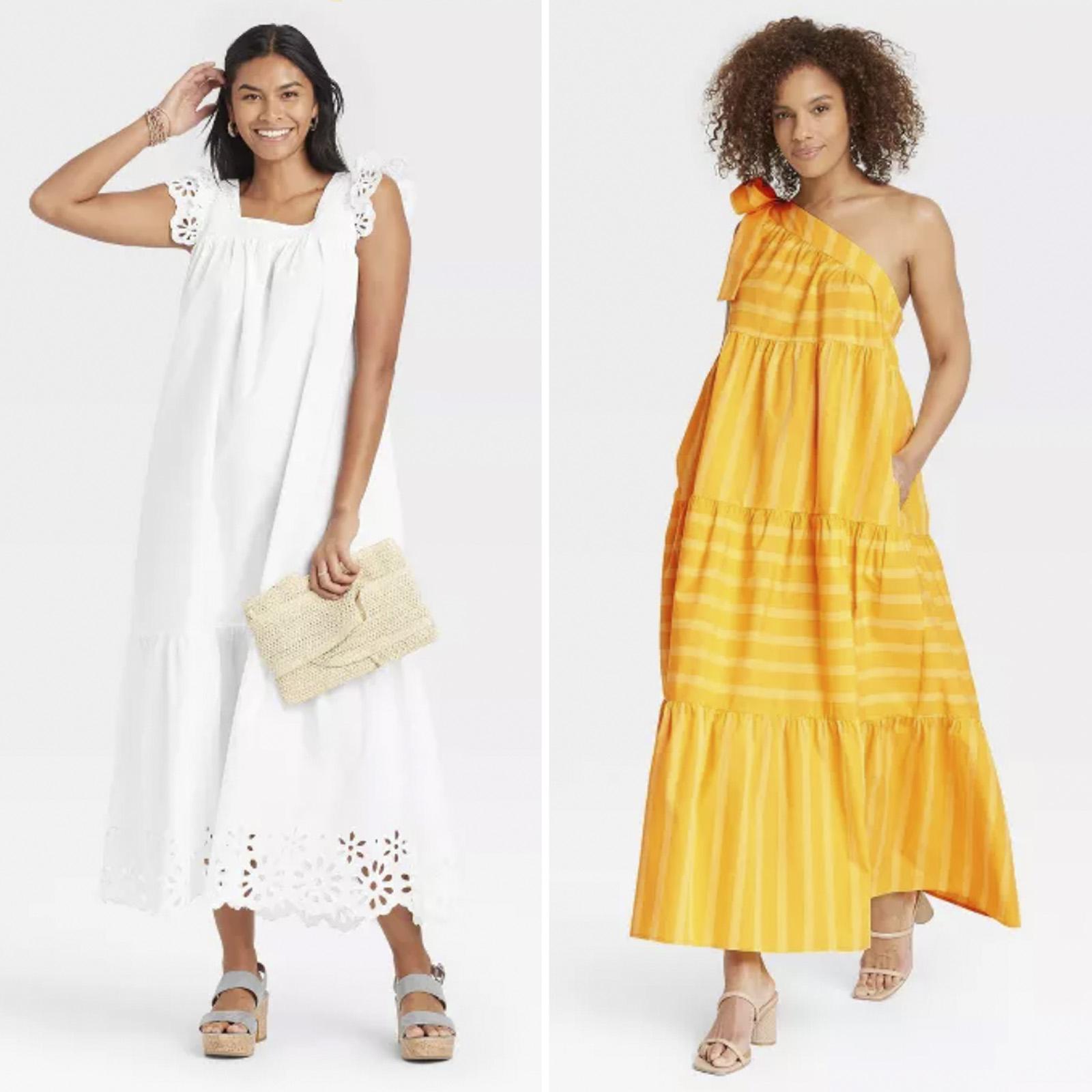 vestido de verano, Target, vestidos por menos de $40