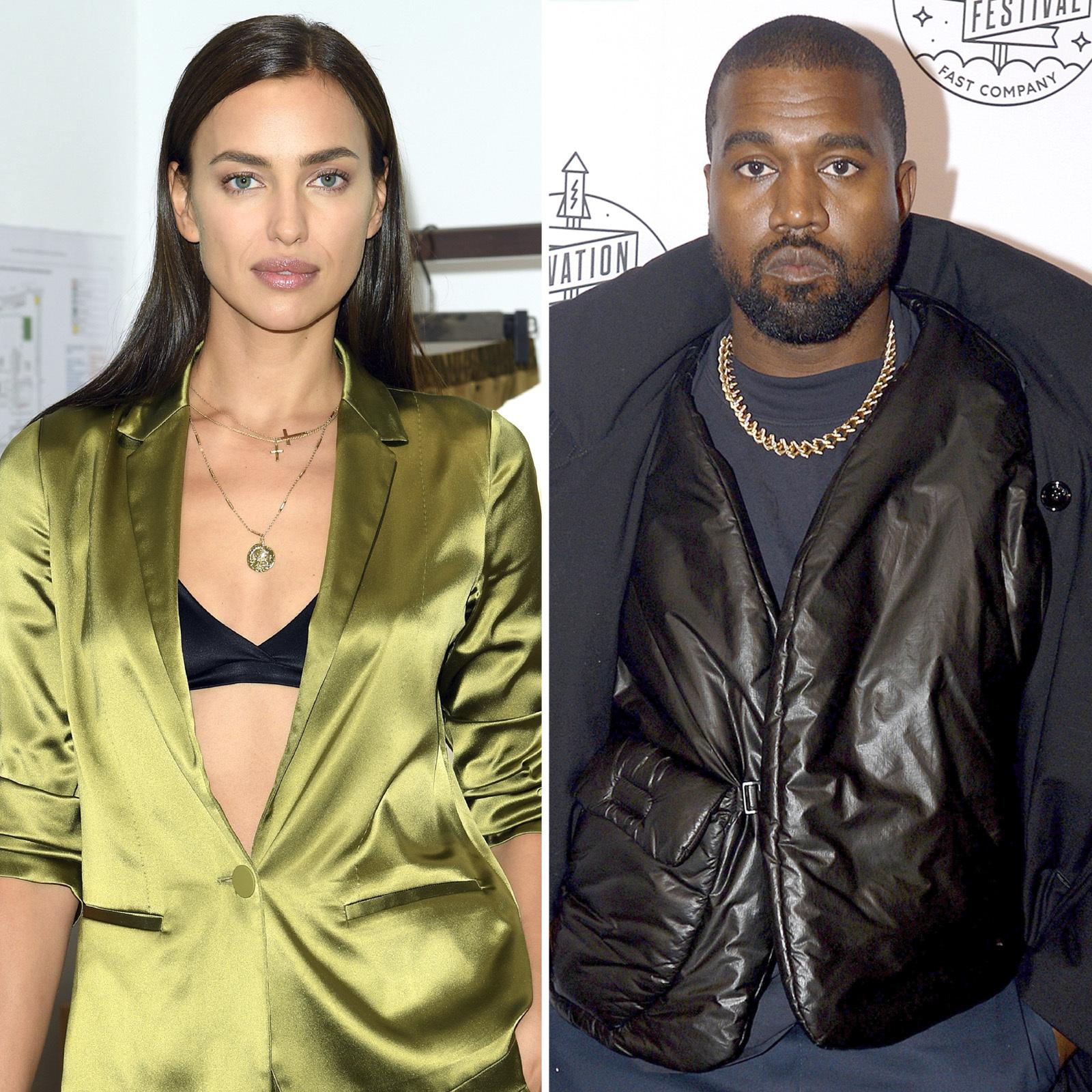 Irina Shayk and Kanye West