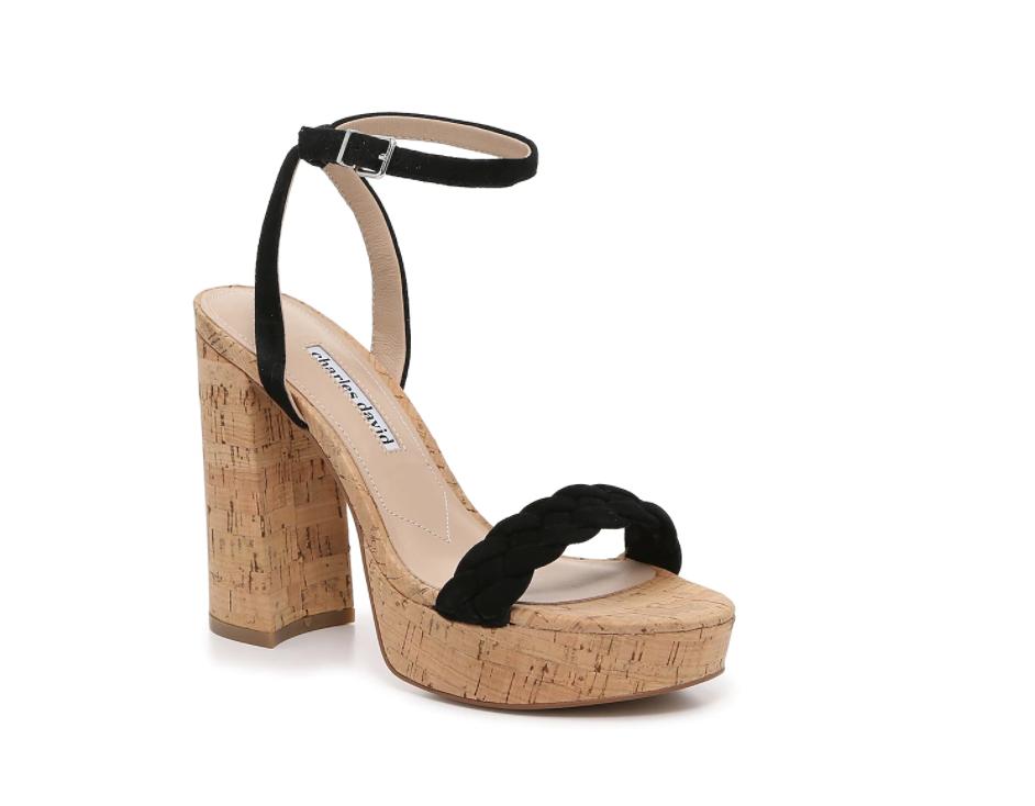 Sandalias de plataforma, galilea montijo