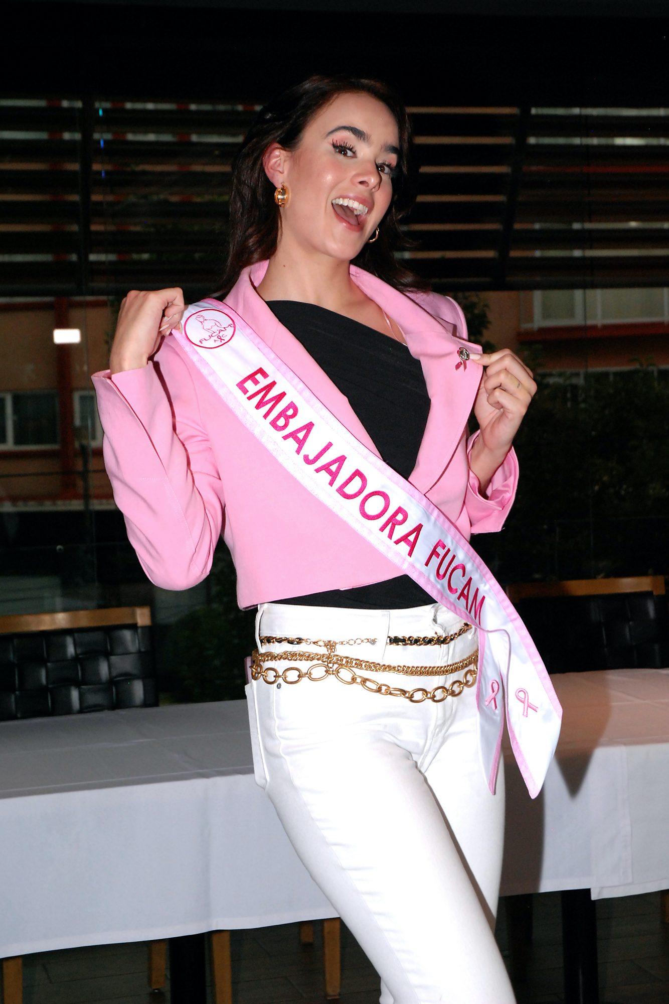 Gala Montes es nombrada embajadora oficial de FUCAM (Fundación del Cáncer de Mama)