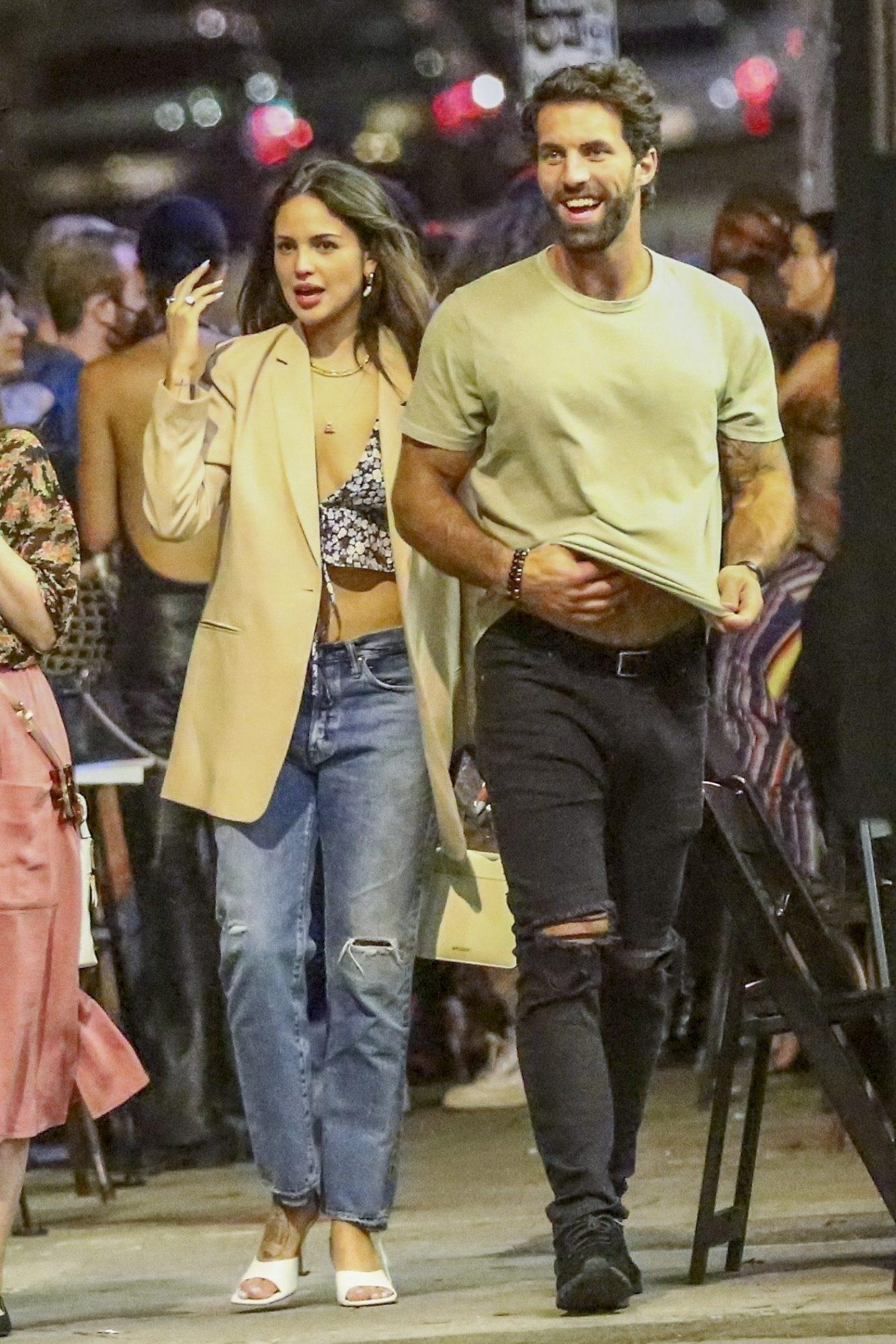 Eiza Gonzalez Spends the Night Partying with Boyfriend Paul Rabilmpleted